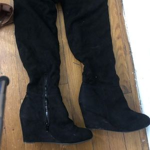 Shoes - Over the knee shoe boots